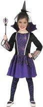 Vampier & Dracula Kostuum | Vanessa De Vampier | Meisje | Maat 140 | Halloween | Verkleedkleding