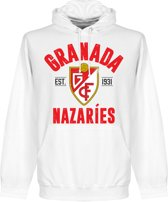 Granada Established Hoodie - Wit  - M