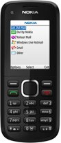 Nokia C1-02 - Zwart