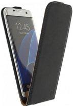 Flip Case Cover Hoesje voor Samsung Galaxy S8, zwart , merk i12Cover