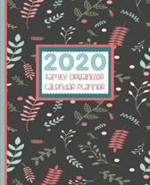 2020 Family Organizer Calendar Planner: Nature Fall Leaves - Family 2020 Calendar, Birthday List, Medical And Insurance Details, Password Keeper Etc-