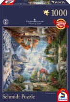 Schmidt Thomas Kinkade The Mountain Chapel 1000