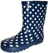 Gevavi Boots Stip kinderlaars rubber blauw 23
