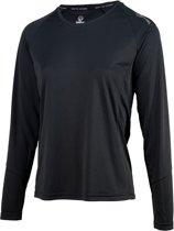 Rogelli Basic Running Longsleeve Dames Sportshirt - Maat L  - Vrouwen - zwart