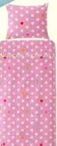 Lief! Lifestyle Eenpersoons Dekbedovertrek Roze – 100x135cm | Beddengoed voor Kinderen | Lakens | Slaapspullen