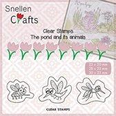 CLP004 Clearstamp SnellenCrafts Insects stempel insecten insect