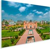 Een fort in Dhaka Plexiglas 180x120 cm - Foto print op Glas (Plexiglas wanddecoratie) XXL / Groot formaat!