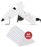 Lijmpistool inclusief 40x lijmsticks – Glue Gun-  Hobby   Knutselen   Creatief  – Digital Design – 7mm