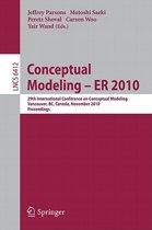 Conceptual Modeling - ER 2010