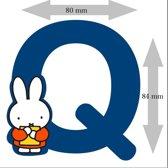 """Nijntje houten letter """"Q"""""""