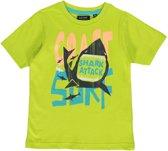 Blue Seven Jongens T-shirt - Lime - Maat 122
