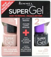 Rimmel London SuperGel DuoPack - 012 Soul Session - Gel Nagellak