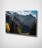 Mountains Canvascanvas | 100x75 cm