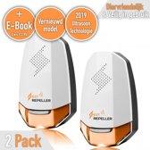 Ultrasone muizenverjager met E-Book - Veilig ratten bestrijden/verjagen - Anti Muizenplaag - Oranje