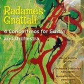 Gnattali: 4 Concertinos For Guitar And Orchestra