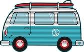 Opblaasfiguur Mini Busje *voor in het zwembad