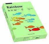 Rainbow gekleurd papier A4 80 gram 75 middelgroen 500 vel