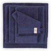 Walra badgoedset - 4x badhanddoek 60x110 cm + 4x washandjes 16x21 cm + 4x gastendoek 30x50 cm - Navy