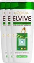 L'Oréal Paris Elvive Multivitamine Shampoo - 3 x 250 ml - Voordeelverpakking
