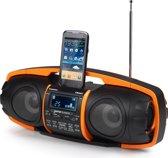 Audiosonic Beatblaster RD-1548 - Zwart/Oranje