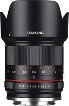 Samyang 21mm F1.4 Ed As Umc Cs - Prime lens - geschikt voor Micro 4/3