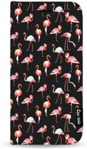 Casetastic Wallet Case Black Samsung Galaxy S8 Plus - Flamingo Party