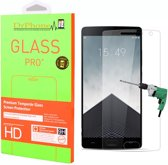 DrPhone Oneplus 2 Glas - Glazen Screen protector - Tempered Glass 2.5D 9H (0.26mm)