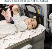 Vliegtuigbedje - Reiskussen  - Opblaasbare Nekkussen  - Goedgekeurd door vliegtuigmaatschappijen