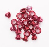 "Eyelets metalic 1/8"" red 25 st"