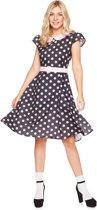Roze 50's jurk voor vrouwen  - Verkleedkleding - Small
