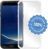 Schokbestendige hoes voor Samsung Galaxy S6 gemaakt van doorzichtig Shock Proof TPU Siliconen