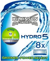 Wilkinson Hydro 5 Groomer/ Power Select - 8 scheermesjes