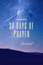 30 Day Teacher's Prayer Journal