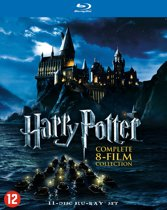 DVD cover van Harry Potter - Complete 8-Film Collection (Blu-ray)