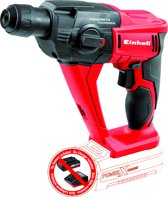EINHELL Accu Boorhamer TE-HD 18 Li Solo - Power-X-Change - 18 V - 9,9 Nm - 1,2 J - SDS-Plus - Zonder accu & lader