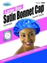 Dream Large Size Satin Bonnet Cap