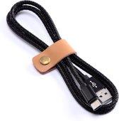 Micro USB Kabel / Datakabel 1 meter / MicroUSB kabel / Micro-USB Kabel / Oplaadkabel / Oplader / Oplaad Kabel voor o.a. Samsung Galaxy Tab S2 8.0 - 1 Meter - Zwart - Hoge Kwaliteit