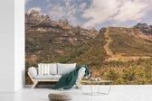 Fotobehang vinyl - Omgeving van het Nationaal park Andringitra breedte 450 cm x hoogte 300 cm - Foto print op behang (in 7 formaten beschikbaar)