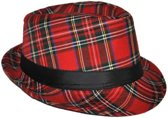 Al Capone hoed Schotse ruit rood