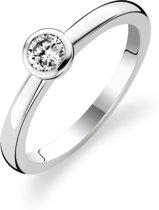 TI SENTO Milano Ring 1868ZI - Maat 52 (16,5 mm) - Gerhodineerd Sterling Zilver