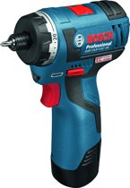 Bosch Professional GSR 12 V-EC HX Accu schroefmachine - 12 V - Zonder accu en lader