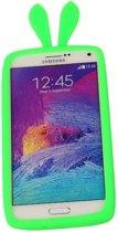 Groen Bumper Konijn Medium Frame Case Hoesje voor Samsung Galaxy A5 2016