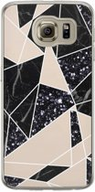 Samsung Galaxy S6 siliconen hoesje - Abstract painted