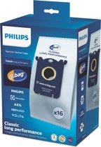 Philips S-Bag FC8021/05 - Voordeelpakket met 16x Classic Long Performance stofzuigerzakken