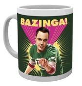 The Big Bang Theory Sheldon Bazinga - Mug