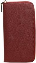 322e7f22f78 BestCases.nl Sony Xperia X Performance Luxe Leder look Portemonnee  dames/heren - Bordeaux