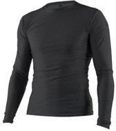 Adidas Shirt Rashguard Closefit Lange Mouw Heren Zwart