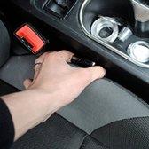 Autostoel Gleuf Opvuller - Gat vuller Auto - Zwart - Set van 2
