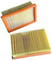 Premium Filter Voor Karcher MV4/MV5/MV6/WD4/WD5/WD6 Stofzuiger - Premium Vlakfilter Stofzuigerfilter