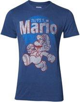 Nintendo - Super Mario Running Vintage Men s T-shirt